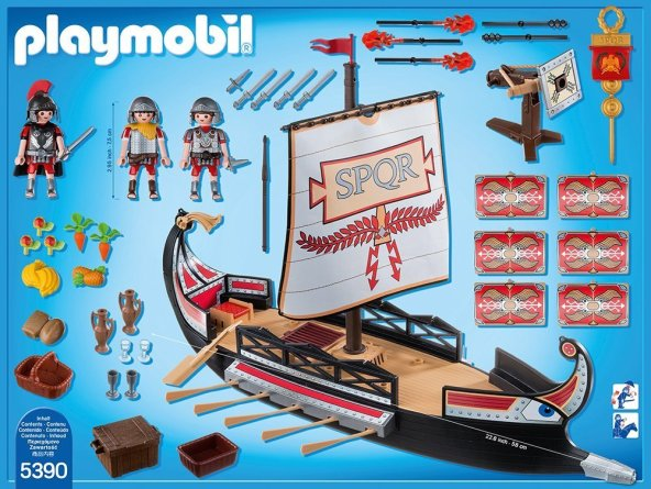 Playmobil Roman Ship History
