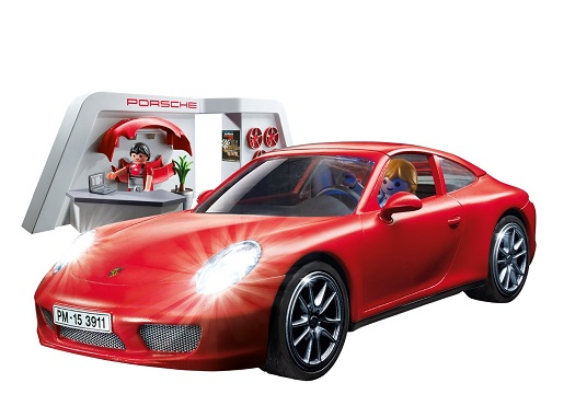 Playmobil red Porsch 3911