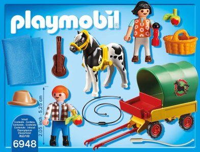 Playmobil Carriage Horse