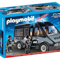 The Playmobil Police van - currently out of stock