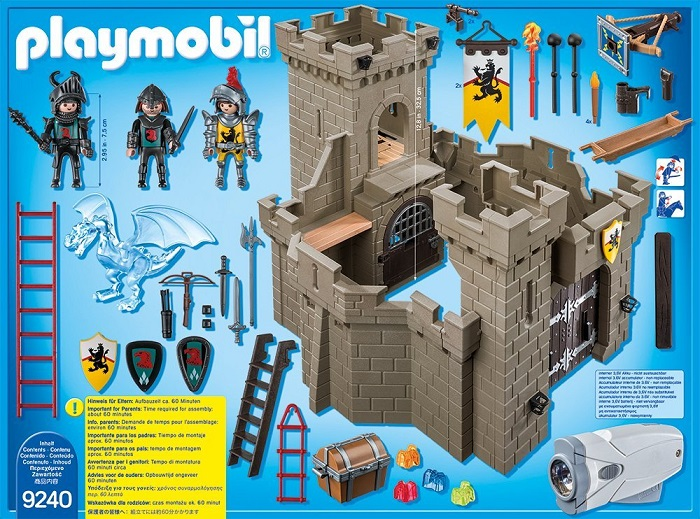Playmobil new Lion Knights Fortress