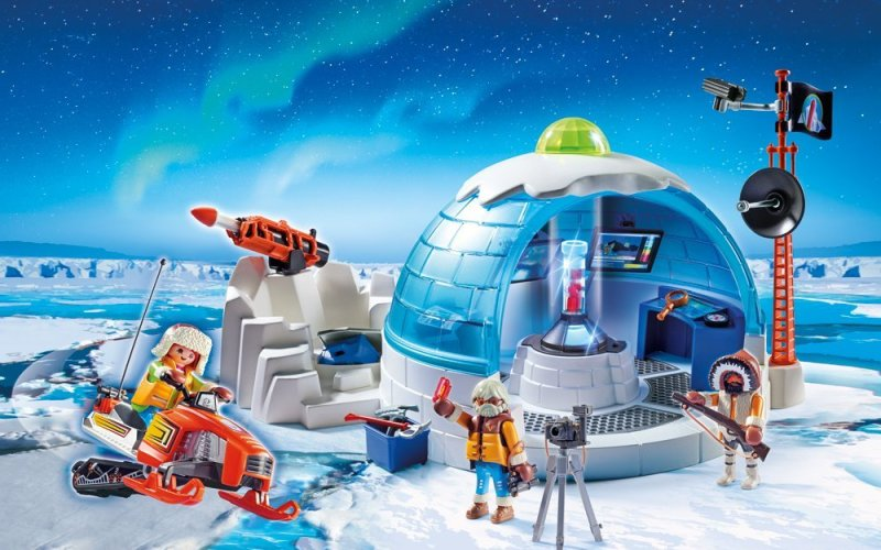Click to get the price for Playmobil arctic Polar base