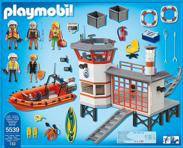 Playmobil Coast Guard Station