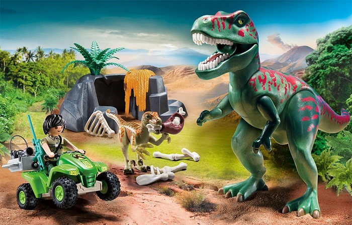 Playmobil dinosaur t rex set currently out of stock - Dinosaur playmobile ...