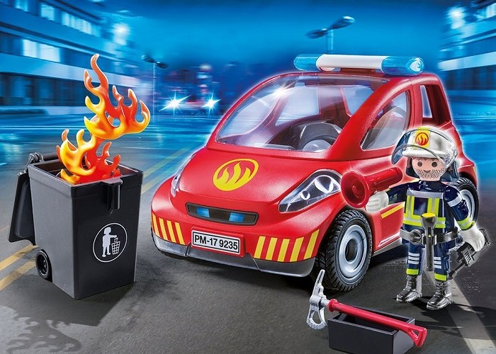 Get in to get the price for Playmobil small firefighter car