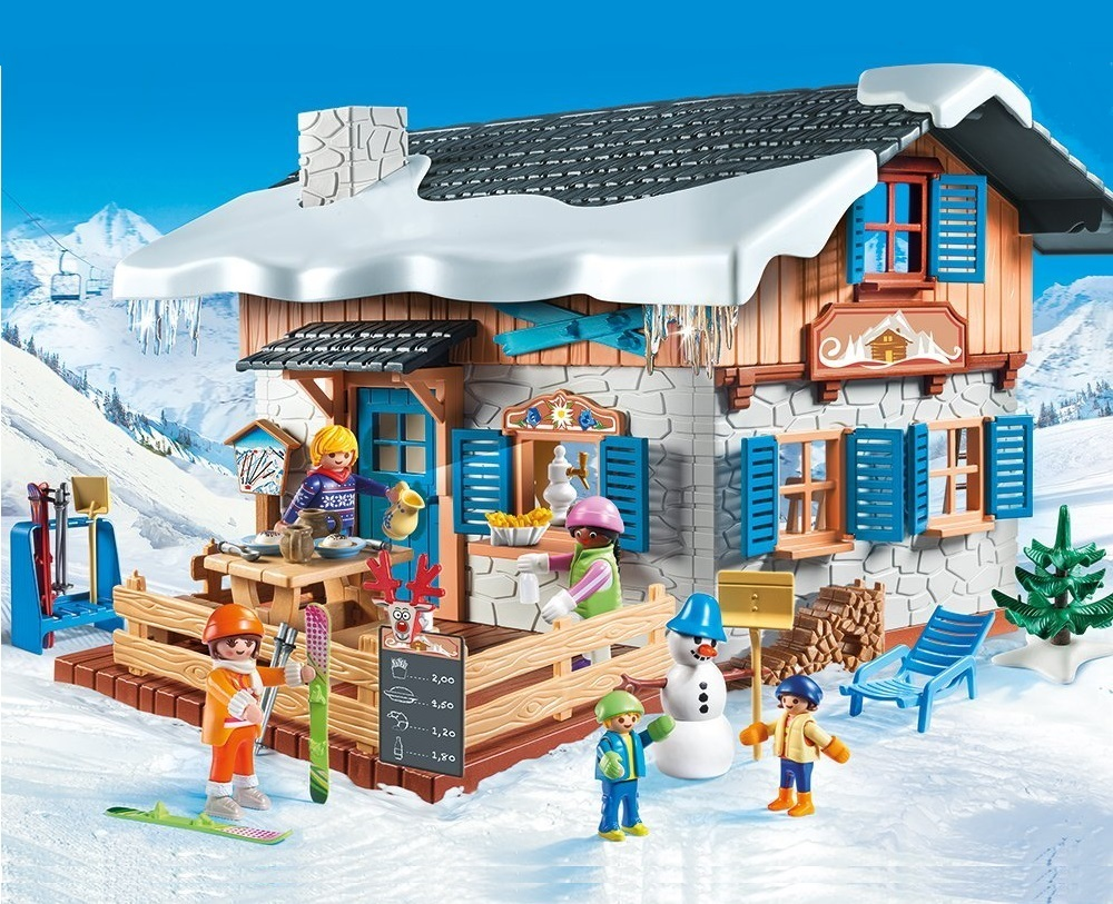 Playmobil Ski Hut - 39.99 Euro
