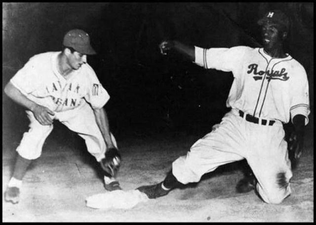 Robinson cuando jugó en La Habana. Foto: Cubadebate.