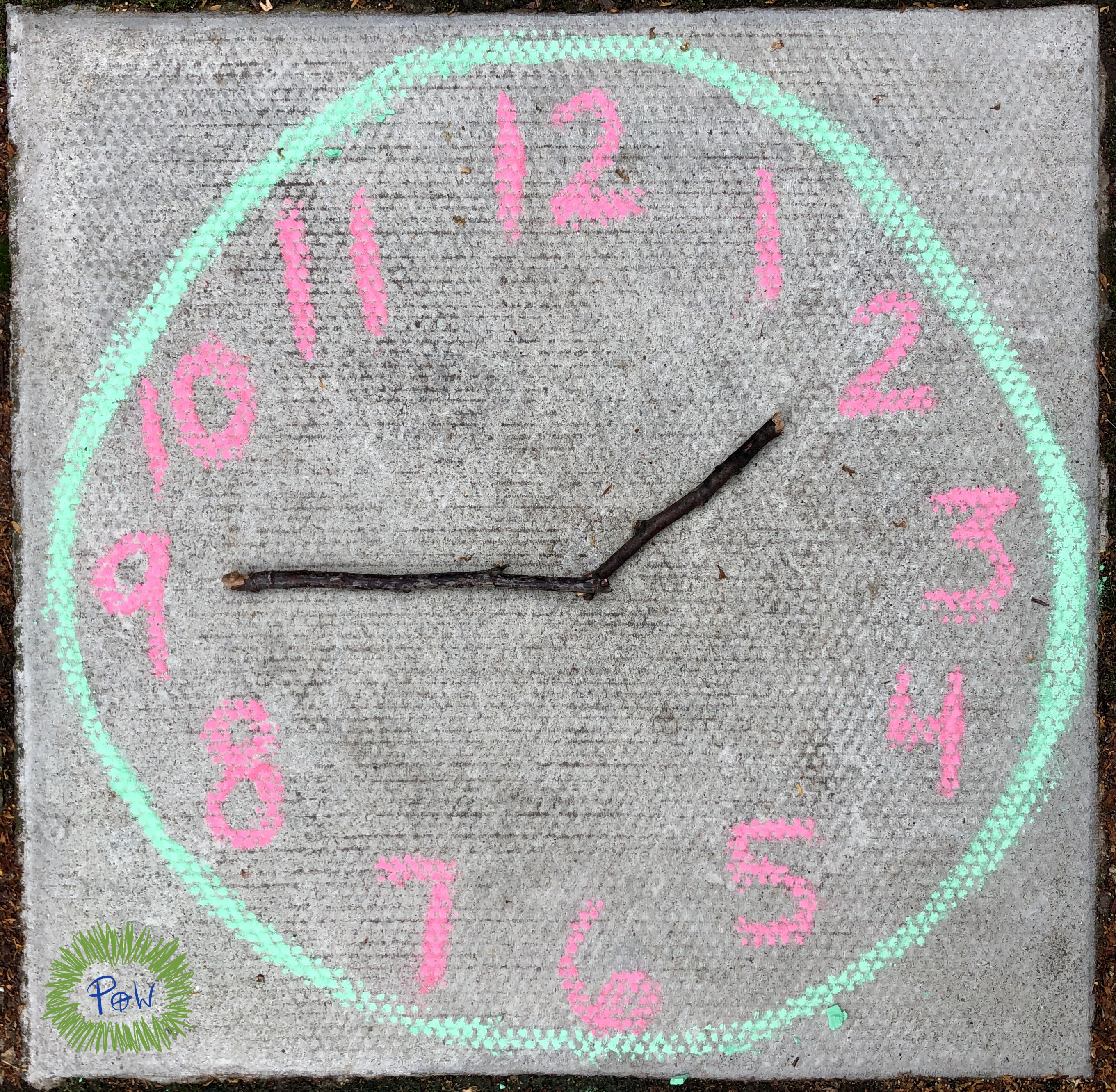 practicing telling time. Outdoor Maths Activities KS1 -Maths Outdoor Learning