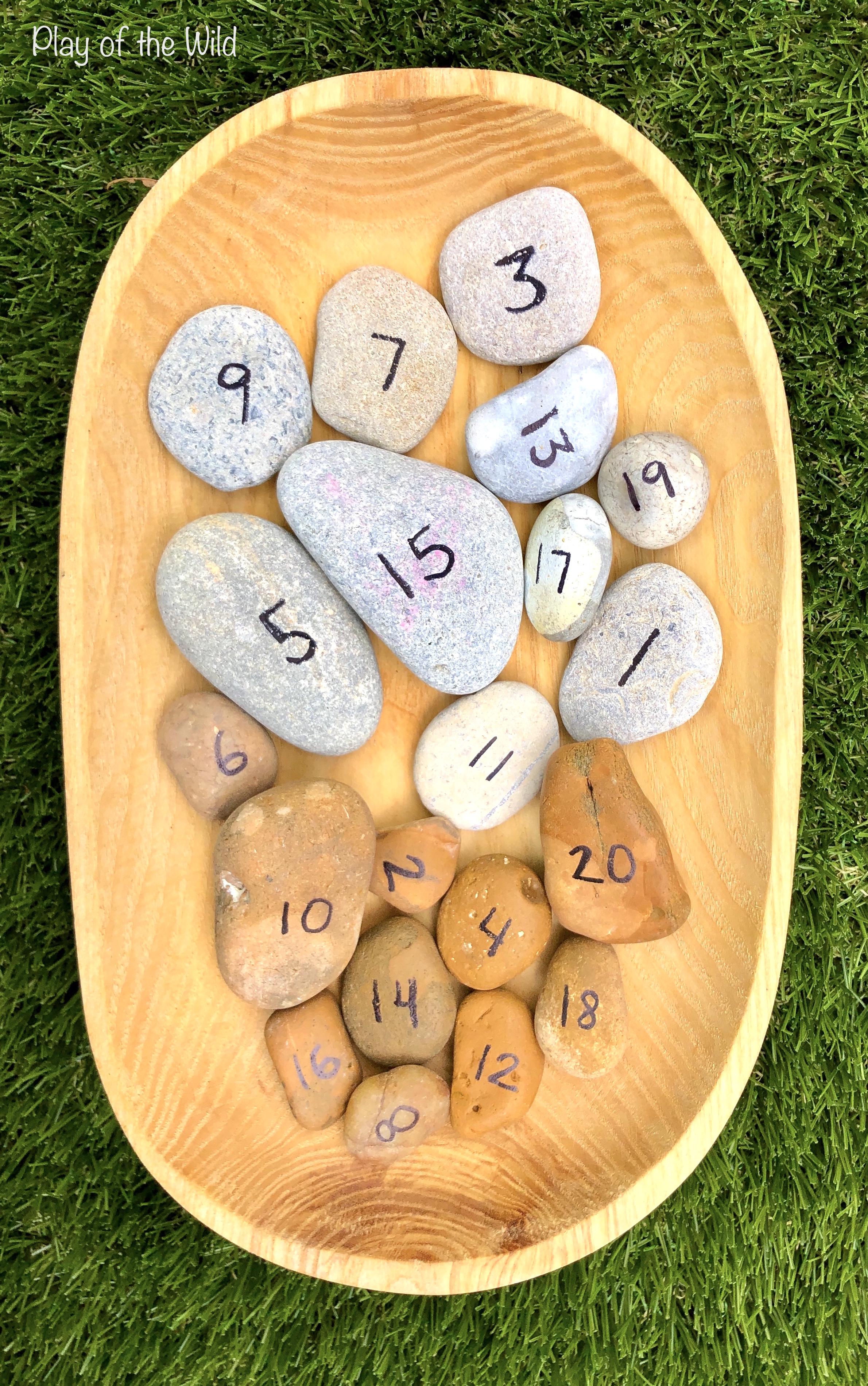 number rocks