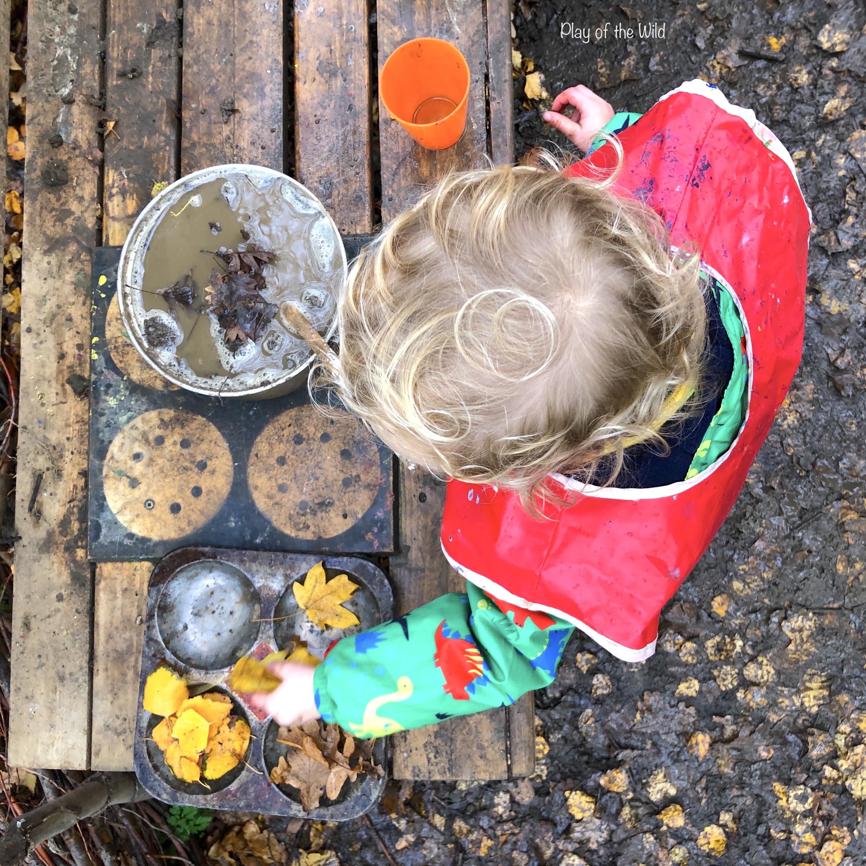 mud kitchen measuring, volume, capacity