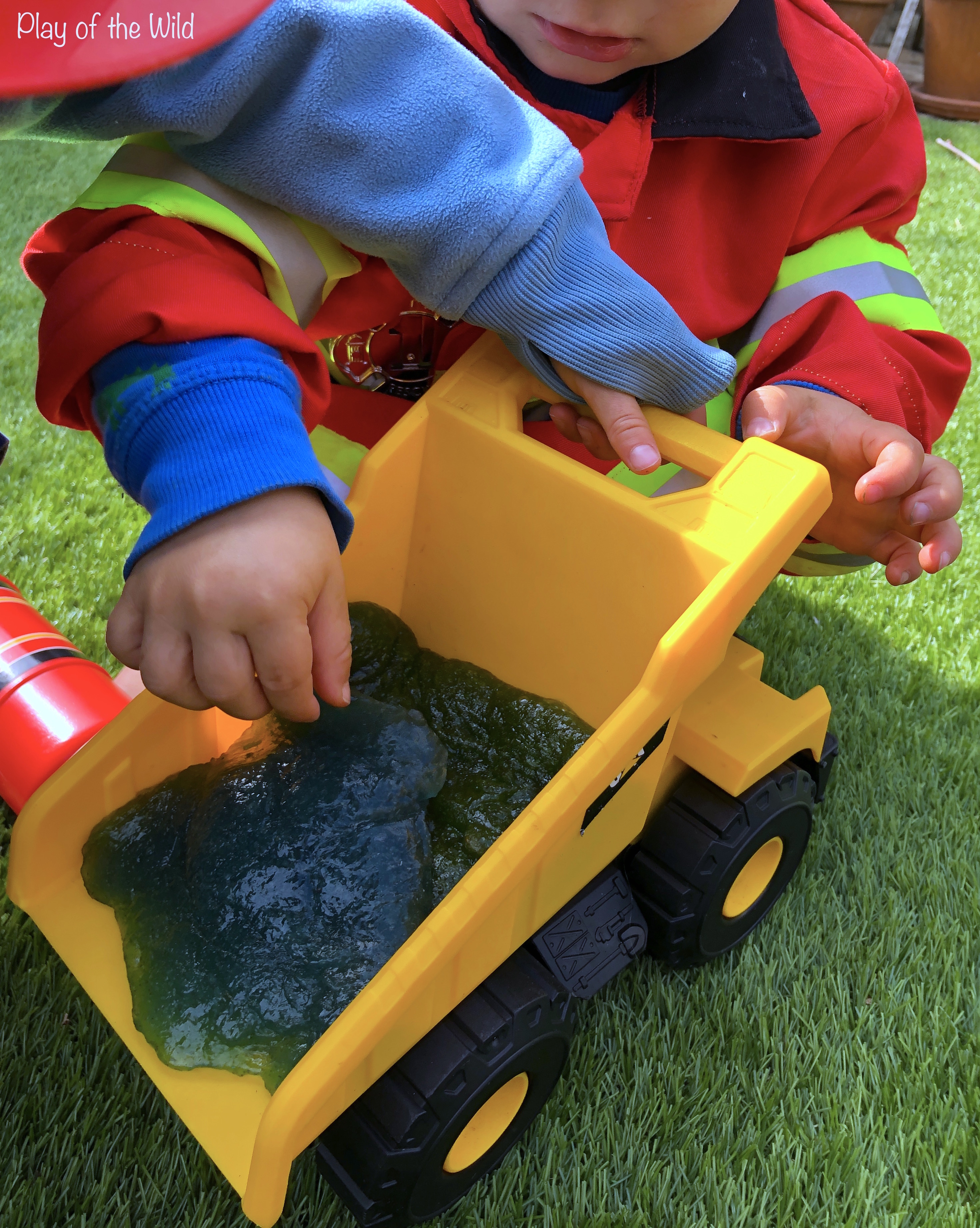 non-toxic, taste-safe slime for children babies and toddlers
