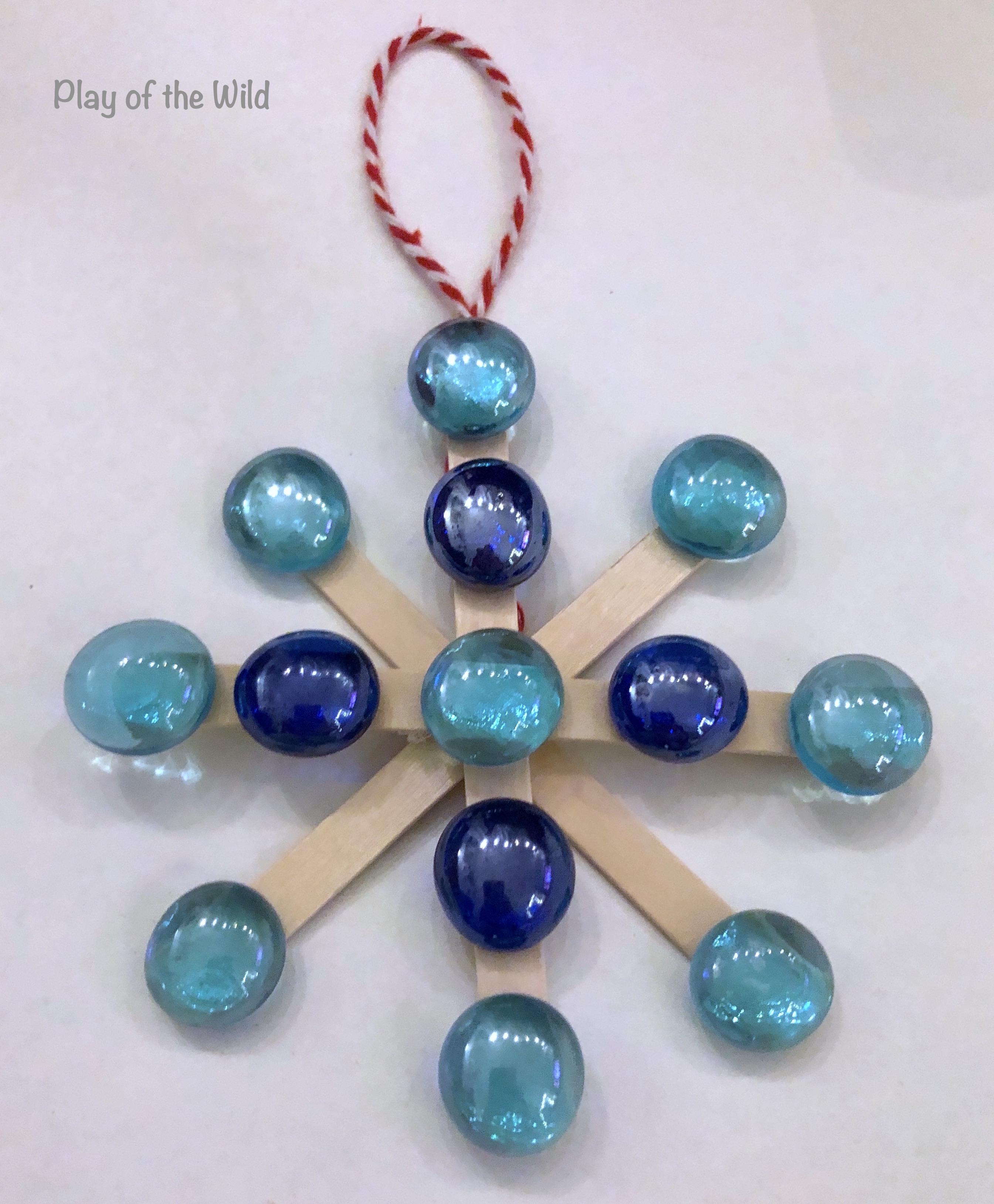 popcicle stick ornament