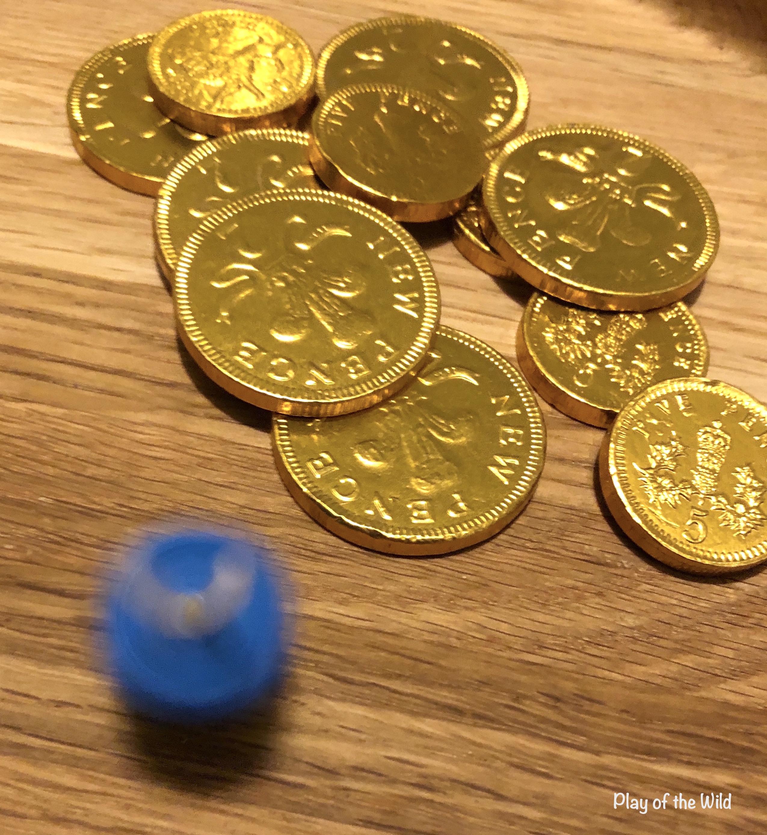 Spinning dreidel Hanukkah Math- Dreidel Math Game for Kids