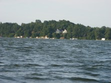 Lake houses on Waubesa