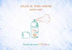 Atelier de Spray Painting pentru copii