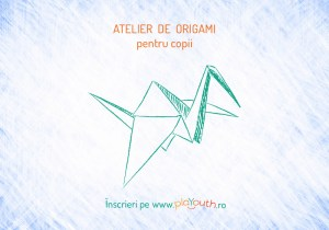 Atelier de Origami 3D @Carturesti ParkLake