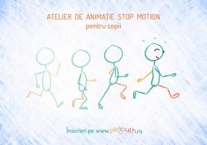 Atelier online de Animaţie stop motion pentru copii