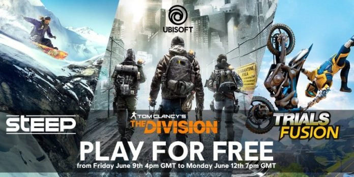 Ubisoft Free Weekend cover