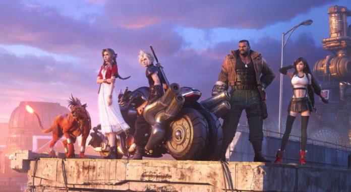 PR2020 Final Fantasy VII Remake Hollow Cover playpost