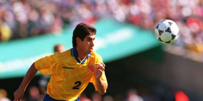 Andrés Escobar for Colombia