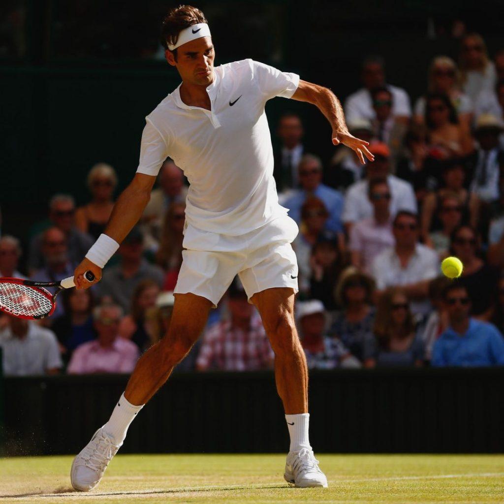 Forehand - Roger Federer