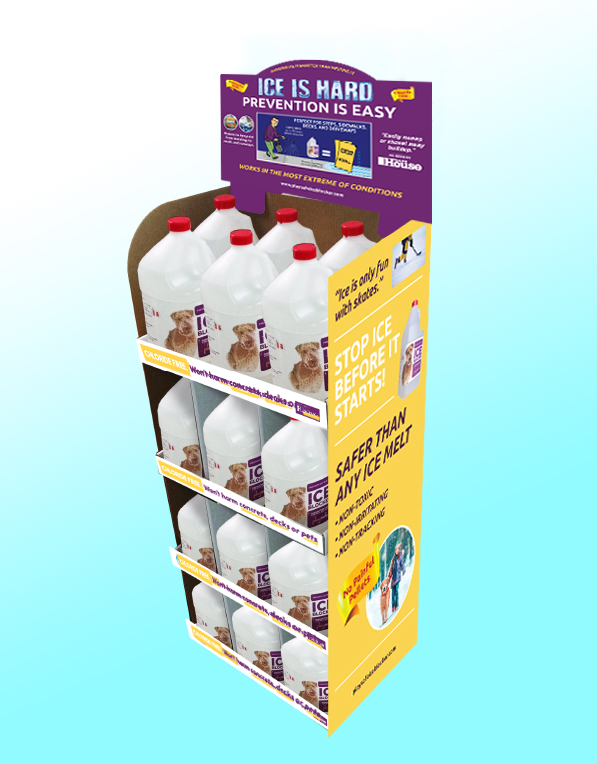 PlaySAFE Ice Blocker Store Display