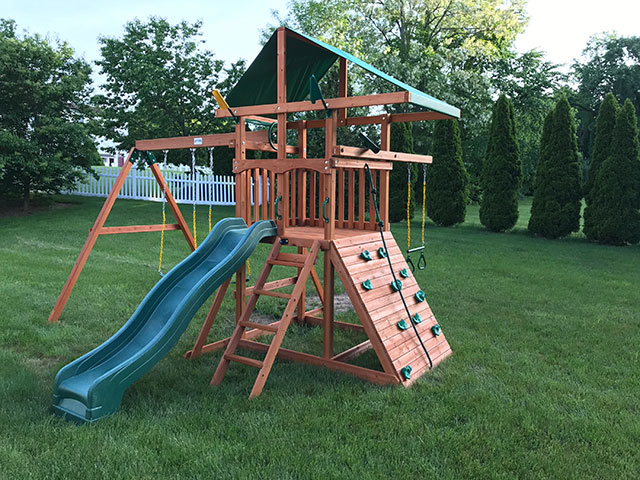 New England Playset Assembly Springfield Ma Playset Installation