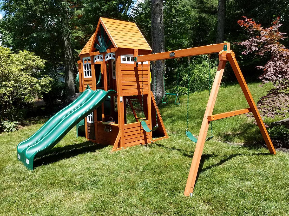 Cedar Sumiit Valleyview Swing Set