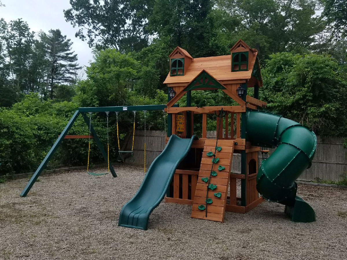 New England Playset Assembly Abington Ma Playset Installation