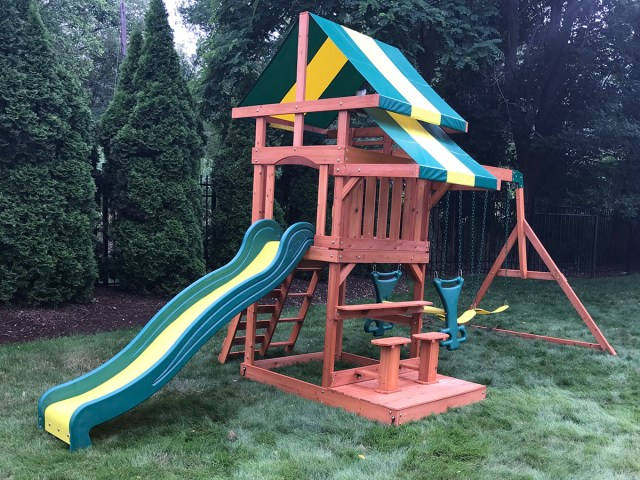Backyard Discovery Independence Swing Set Assembly