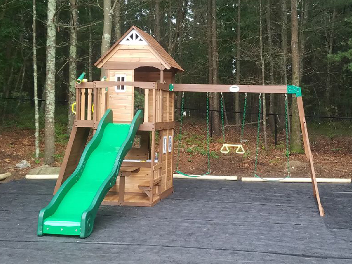 New England Playset Assembly Kingston Ma Playset Installation