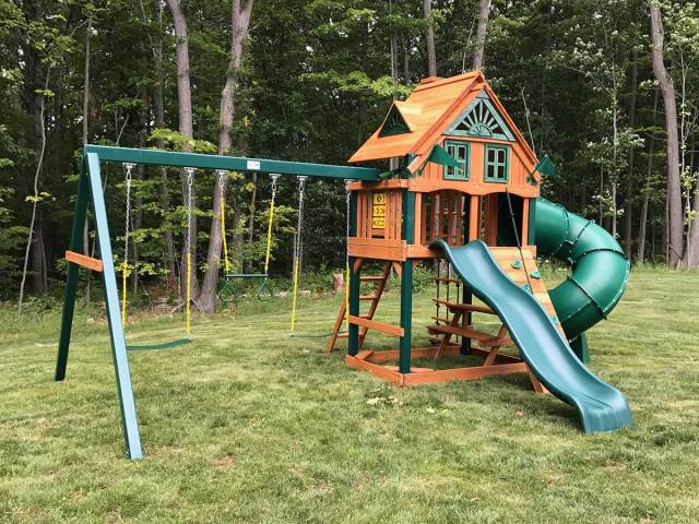 Gorilla Mountaineer Treehouse Playset