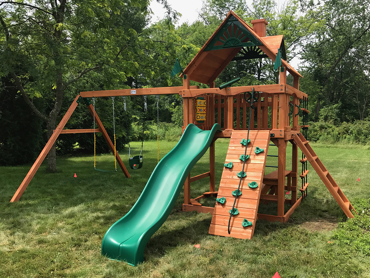 New England Playset Assembly Amherst Ma Playset Installation