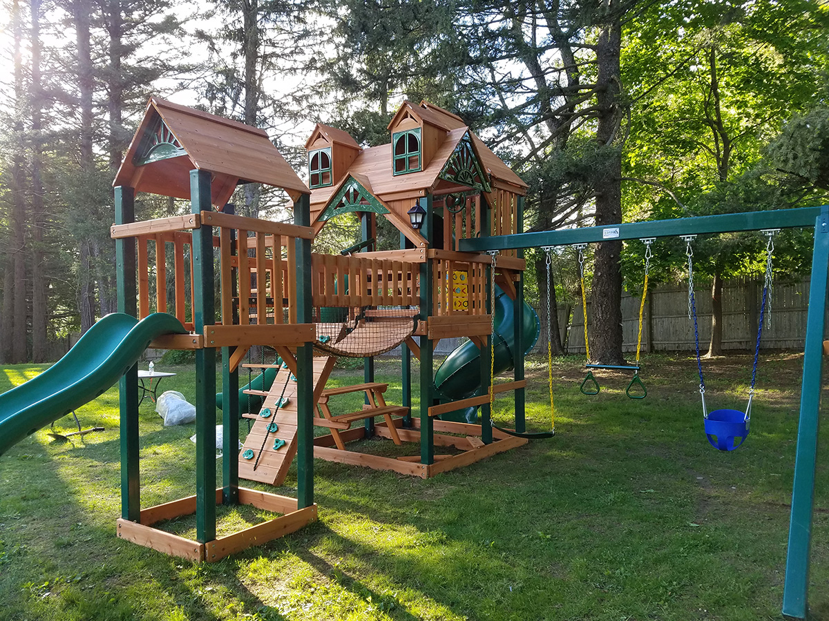 New England Playset Assembly New Canaan Ct Playset Installation