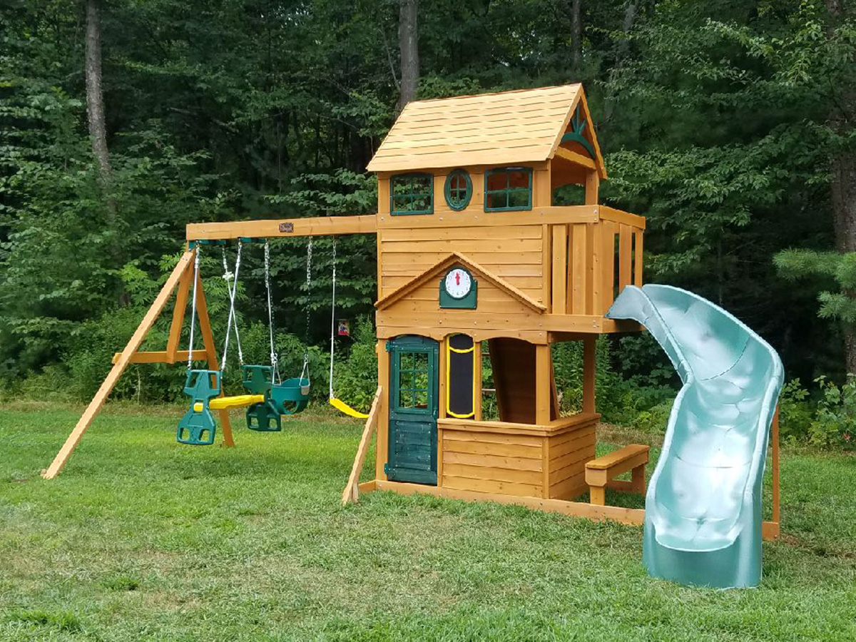stan hallett swing set installation ma ct ri nh me