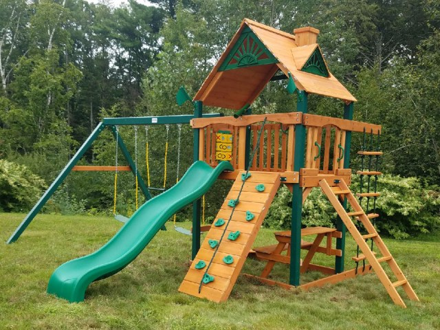 Gorilla Chateau Playset Assembly in Nashua, NH