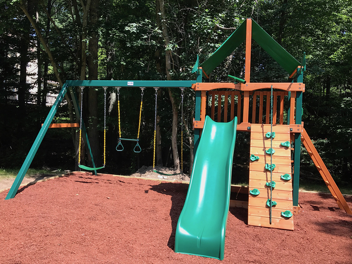 New England Playset Assembly Sharon Ma Playset Installation