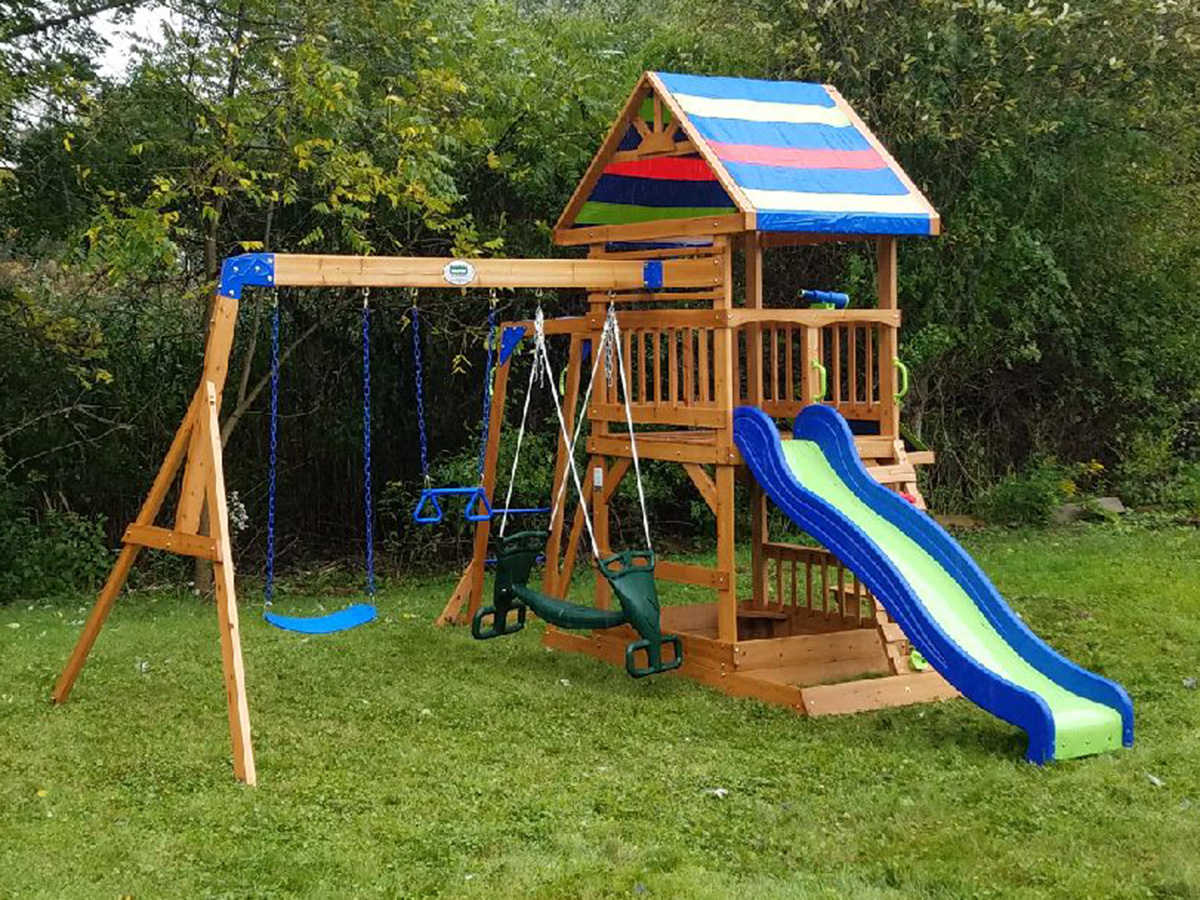 New England Playset Assembly Danvers Ma Playset Installation