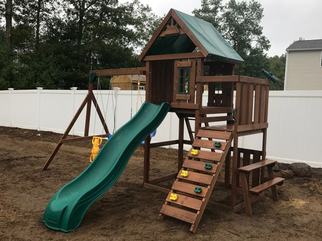 Swing-N-Slide Knightsbridge Playset Assembly in Coventry, RI