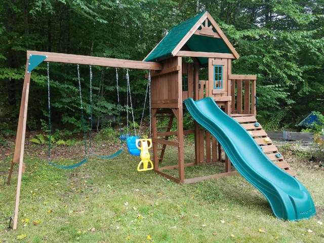 Swing-N-Slide Knightsbridge Playset Assembly in Fremont, NH