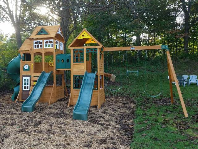 Cedar Summit Paramount Playset Assembly Haverhill MA