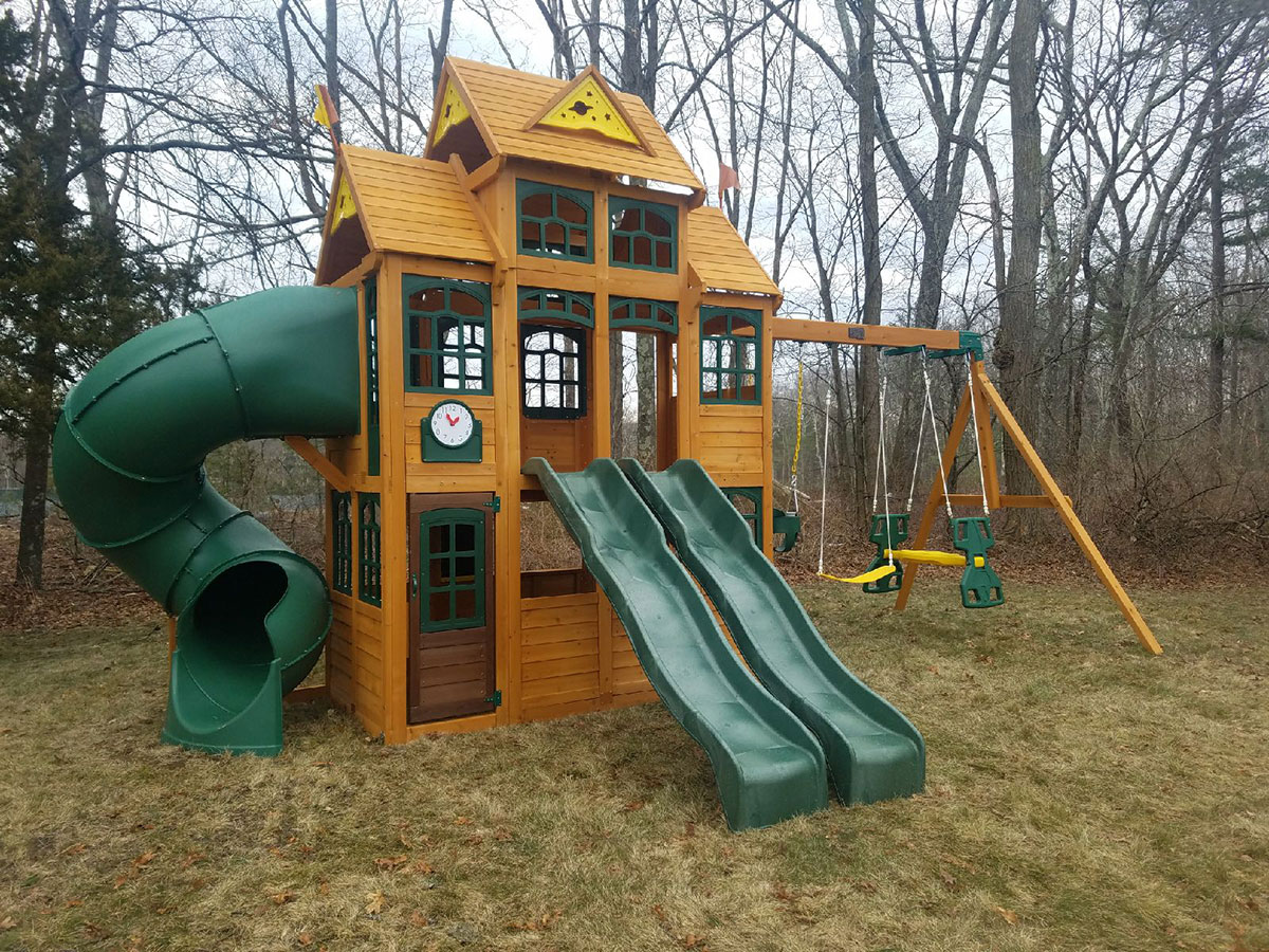 New England Playset Assembly Hopedale Ma Playset Installation