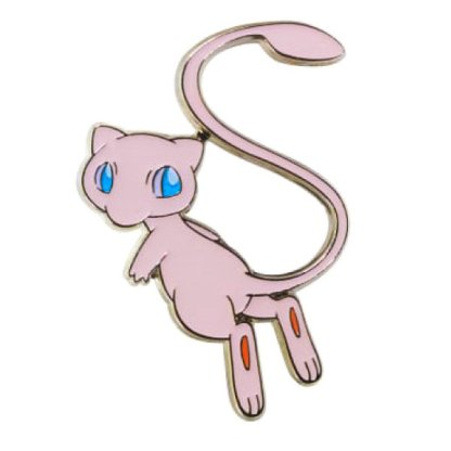 Mew Official Authentic Metal Pin Badge Hidden Fates