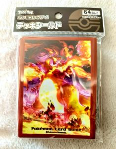 Charizard VMAX Gigantamax Pokemon Card TCG Sleeves Cases Japan Japanese 64 Count