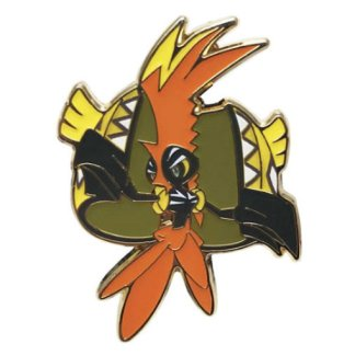 Tapu Koko Official Metal Pokemon Pin Badge Sun and Moon