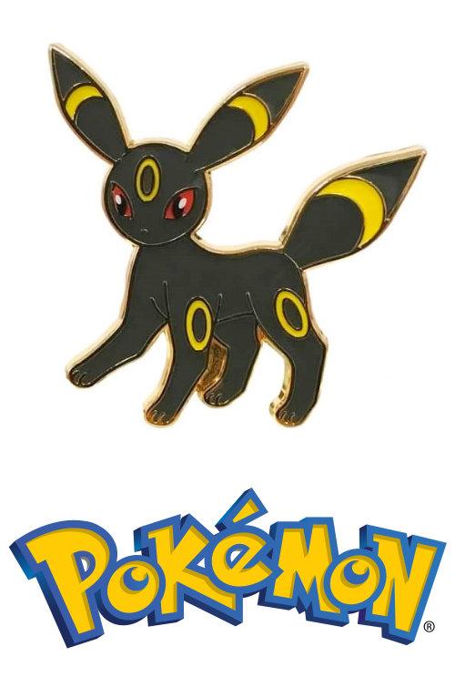 Umbreon Official Metal Pokemon Pin Badge Eevee (Umbreon GX Collection)