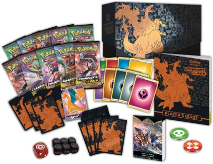 Elite-Trainer-Box-Charizard-V-ETB-Champions-Path-Pokemon-TCG-Contents