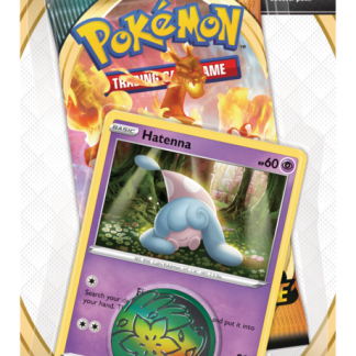 Pokemon TCG Checklane Single Blister Pack: Hatenna - Sword and Shield Darkness Ablaze