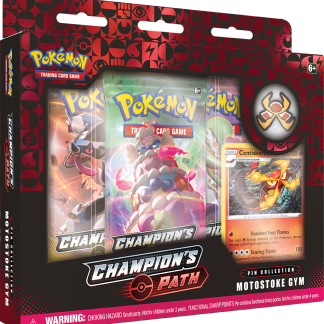 Pokemon TCG: Champion's Path Pin Collection - Motostoke Gym
