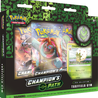 Pokemon TCG: Champion's Path Pin Collection - Turffield Gym (SWSH3.5)